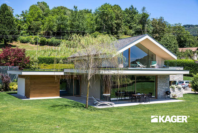 Houses In The Style Of Hi Tech Kager ᐉ Construction Of