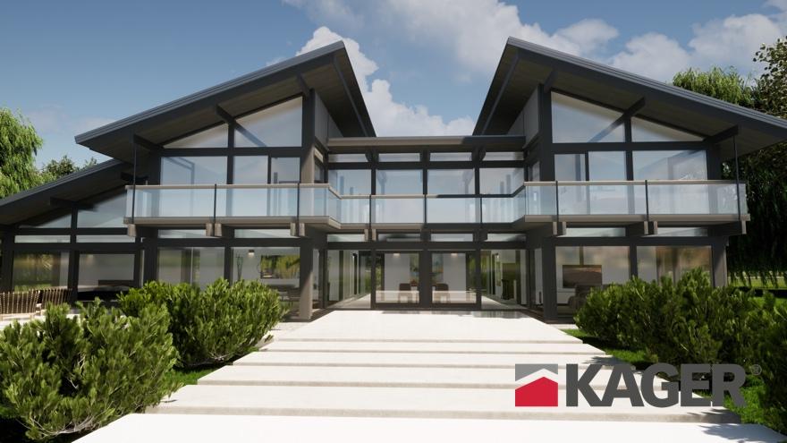 Проекты фахверковых домов KAGER в Украине