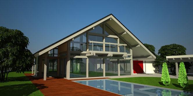Современный дом строительство от компании Кагер в Киеве и Украине